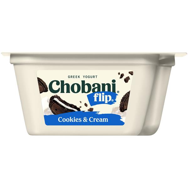 Chobani Flip Cookies & Cream Low-Fat Greek Yogurt