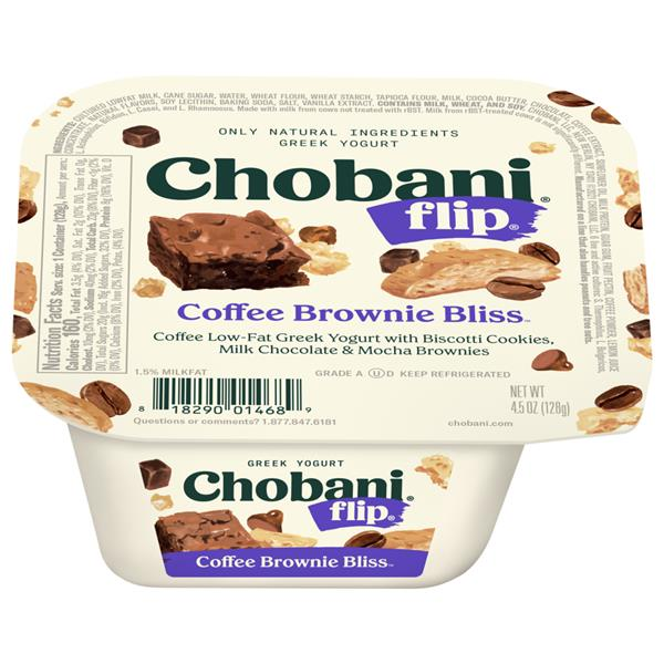 Chobani Flip Coffee Break Bliss Low-Fat Greek Yogurt