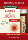 Nature's Truth Aromatherapy Energy On The Go Roll-On Essential Oil Blend