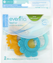 Evenflo Teether Medium Soft Texture 3+
