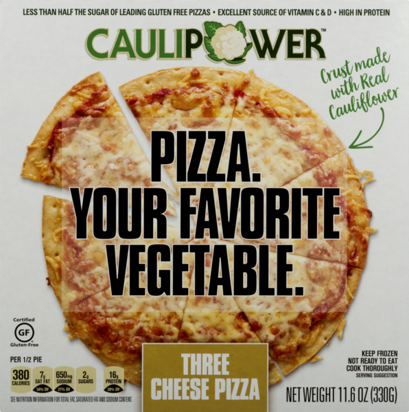 CAULIPOWER Three Cheese Pizza