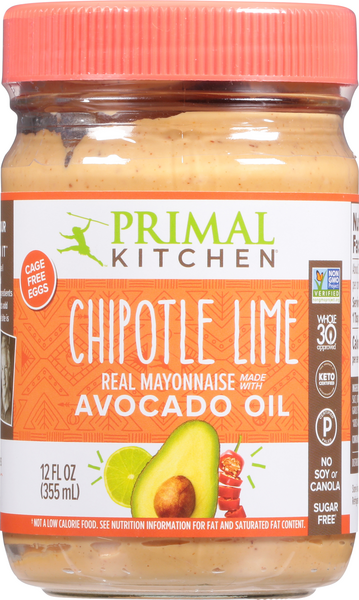 Primal Kitchen Mayo, Chipotle Lime