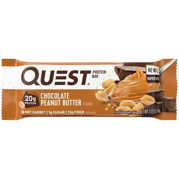 Quest Protein Bar Chocolate Peanut Butter