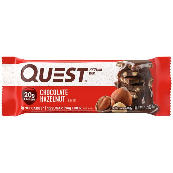 Quest Chocolate Hazelnut Protein Bar